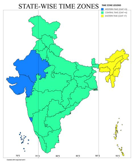 us map time zone wise the for three time zones in india pankaj