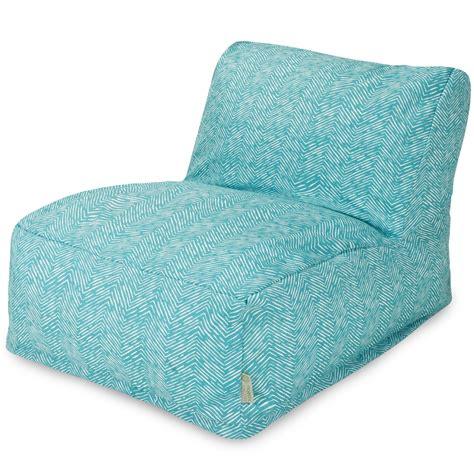 majestic home teal bean bag chair lounger jetcom