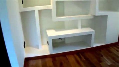 mensole cartongesso pronte libreria in cartongesso
