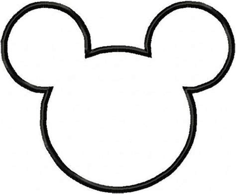 large mickey mouse template mickey mouse templates oh my in