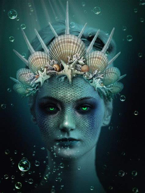 siren digital art  marianna mills