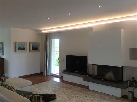illuminazione soggiorno led stunning illuminazione soggiorno cucina contemporary