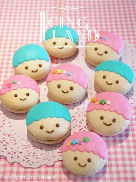 Baby Macaroon Macarons Stars Cookies And Cupcakes