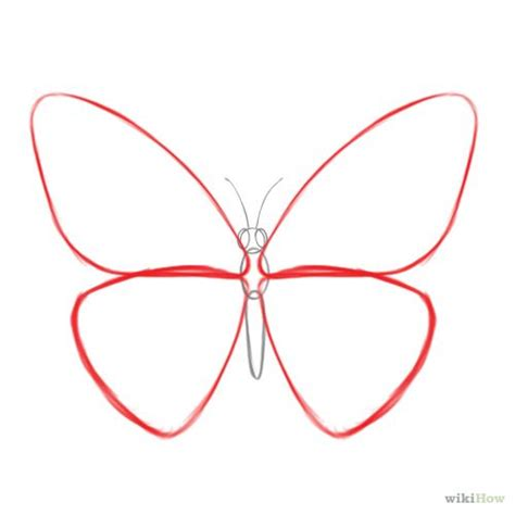 easy butterfly how to draw a butterfly