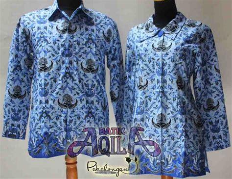 desain jahitan baju batik pakaian batik korpri produsen seragam batik baju batik