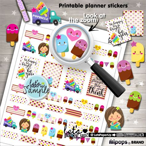 printable planner accessories 60 off popsicle stickers printable planner stickers