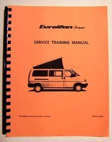 Eurovan Camper Service Manual For 1995 2003 Eurovan