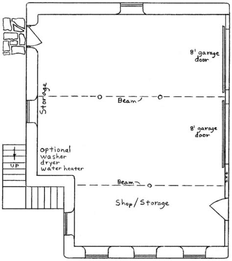 shop apartment floor plans garage apartment plan