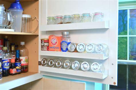 inside kitchen cabinets diy inside cabinet door shelf create and babble