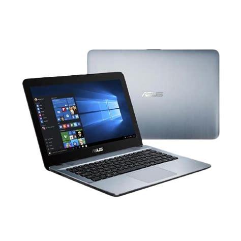 Asus X441sa Bx002t N3060 2gb 500gb W10 Silver jual asus notebook x441sa bx002t notebook silver