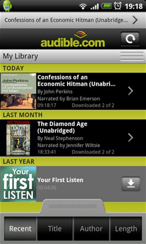 audible for android apk audible droid app image search results