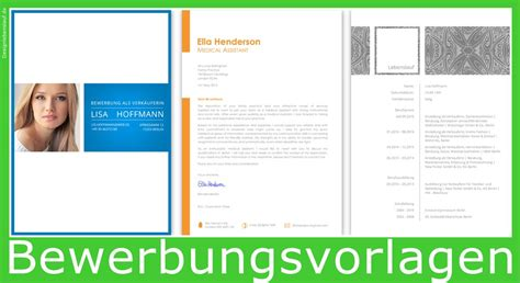 Bewerbungsmappe Wie Lebenslauf Muster F 252 R Word Und Open Office