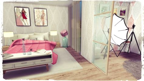 sims 4 schlafzimmer sims 4 youtuber bedroom dinha