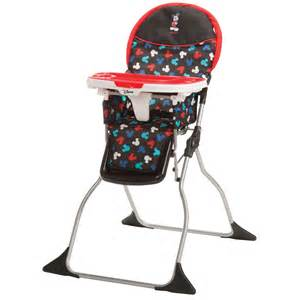 disney baby mickey mouse simple fold plus high chair
