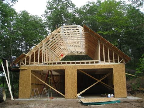 And Timber Frame Garage Plans Free Garage Construction Plans A Frame House Plans With Garage