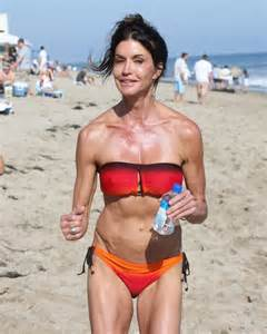 Janice dickinson shows off scary beach body in case you didn t know