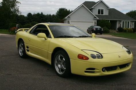 mitsubishi 3000gt yellow find used 1994 mitsubishi 3000gt vr 4 coupe 2 door 3 0l in
