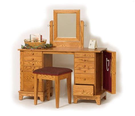Unfinished Makeup Vanity Table Furniture Gt Bedroom Furniture Gt Furniture Gt Handmade Shaker Furniture