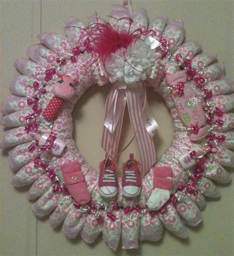 wreath baby shower baby wreath