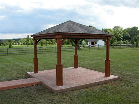 wood gazebo kit low price wood gazebo kits for sale gazeboss net ideas