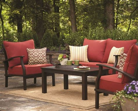 patio furniture sets lowes patio design ideas