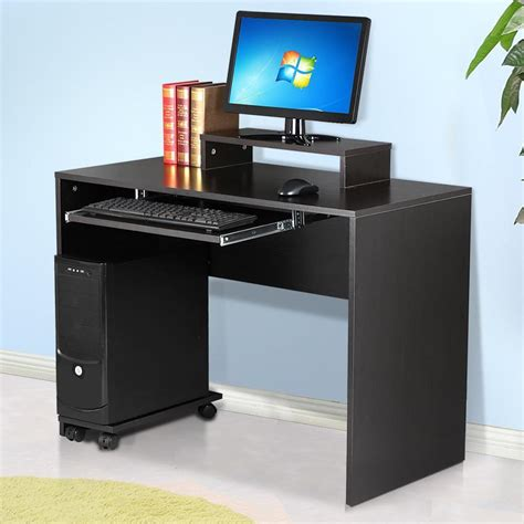 Modern Workstation Desk Modern Computer Pc Home Furniture Office Study Workstation Office Table Desk Uk Ebay