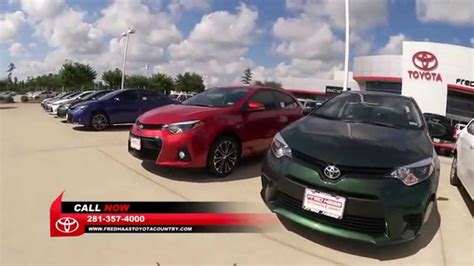 Fred Hass Toyota 2014 Corolla Fred Haas Toyota Country Houston Tx