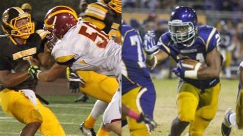 Cif Central Section Football by All State Football Nominees Part 2
