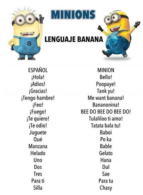Minions Memes En Espaã Ol - traducci 243 n espa 241 ol minion