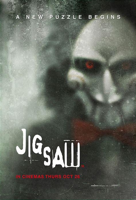 jigsaw film saw nerdly 187 new uk poster for jigsaw