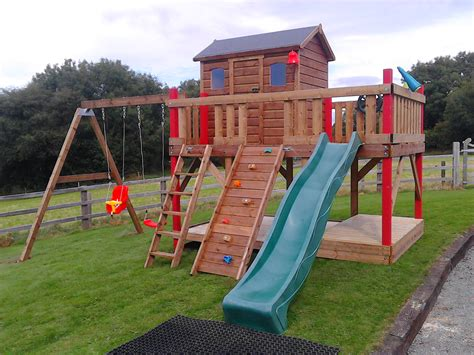 wooden swing sets ireland wooden tree houses treehouse ireland