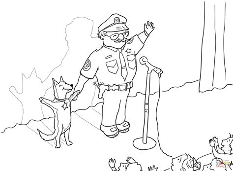 Officer Buckle And Gloria Taking A Bow Coloring Page Officer Buckle And Gloria Coloring Pages