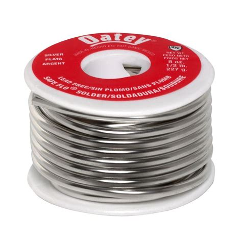 Solder For Plumbing by Safe Flo 8 Oz Lead Free Silver Solder 290242 The Home Depot
