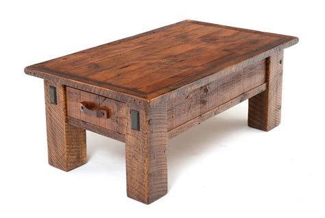 Rustic Coffee Table Barnwood Coffee Table Cabin Furniture