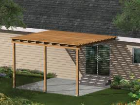 wood patio cover plans simple patio cover ideas