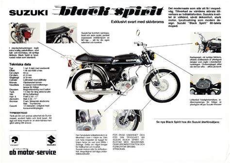 Suzuki Brochure Suzuki K50 Brochures And Adverts