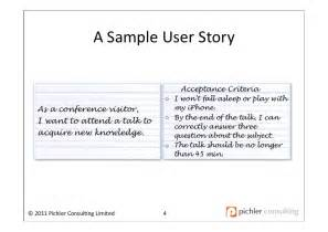 As A User I Want User Story Template by Writing Great User Stories