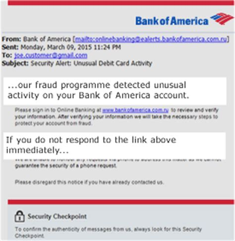 Bank Of America Letter For Visa Bank Of America Protecting Your Information Faqs