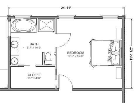 Sketches L Addition by Master Bedroom Size Information