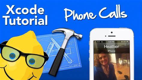 tutorial xcode 6 3 2 xcode 4 6 tutorial phone calls geeky lemon development