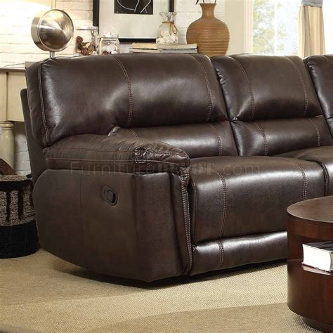 hess leather sofa blythe ii power motion sectional sofa 9606ah by homelegance