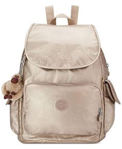 ellaria metallic small drawstring backpack gleaming gold