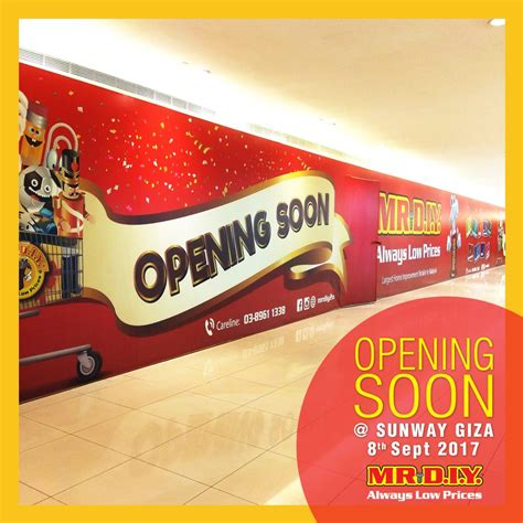 mr diy new year mr diy will open its doors for business on 8th september