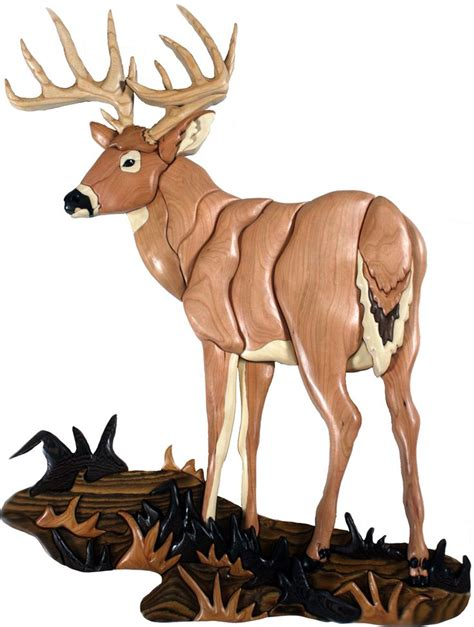 pattern whitetail deer 662 best images about intarsia wood on pinterest