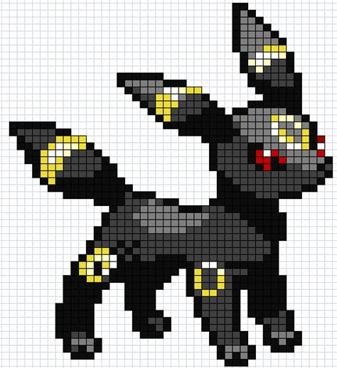 umbreon pixel template pixel umbreon gif by luckyworld2510 on deviantart