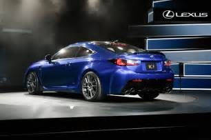 2015 Lexus Rcf 2015 Lexus Rc F Rear Three Quarters Photo 4