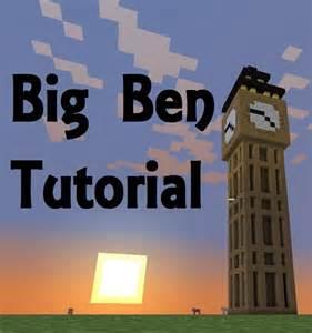 3d Blueprint Maker minecraft big ben tutorial youtube