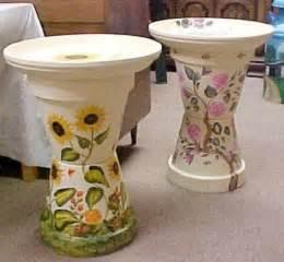 Decorate a terra cotta flower pot bird bath source dotcomwomen com