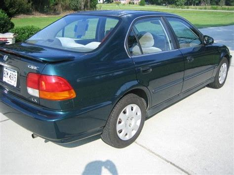 1998 honda civic lx 4 door purchase used 1998 honda civic lx sedan 4 door 1 6l in