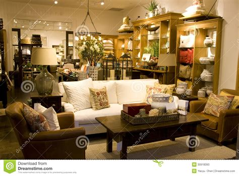 home design furniture store furniture and home decor store stock image image 30918393